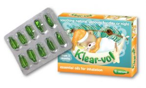 Klear-vol Inhalation Vapour Oil Capsules for Children